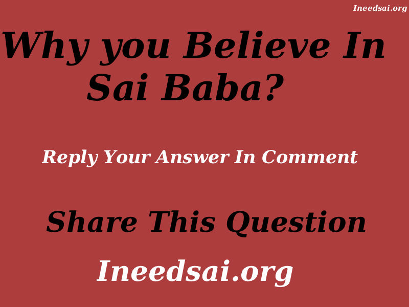 Sai Baba Question Answer